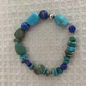 Jewelry - Turquoise/lapis bracelet